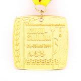 Die Casting Gran Premio de la gente de la medalla de oro de Baloncesto de broche Clip Caso