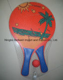 Pala di tennis della racchetta/spiaggia di tennis della spiaggia di estate