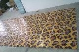 Modelo de mosaico de cristal de oro para la decoración de la pared (HMP646)