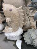 Natürliches Steinschnitzen u. Skulptur für im Freiengarten