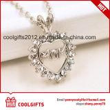 Nuova collana della lega di figura del cuore di disegno per il regalo dei monili di giorno della madre