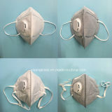 4 respirador disponible del polvo del doblez de la capa N95 con la válvula