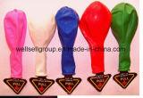 Mehrfarbenballon des latex-Blitz-Licht-LED