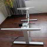 Personalizar negro Stand up eléctrico ajustable en altura Desk
