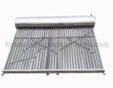 Verwarmingssysteem van het Water van de Buis van de Lage Druk van het roestvrij staal het Vacuüm Zonne