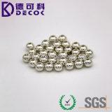 El acero inoxidable bolas decorativas para la joyería del cuerpo