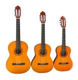 """34"""" pour guitare classique Begainner tilleul"""