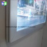 """LED 표시 널을%s 가진 알루미늄 프레임을%s 24의 """"X 36"""" LED 전화 포스터 표시"""