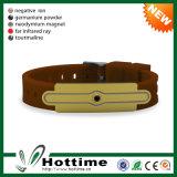 A energia negativa do íon da qualidade superior personaliza barato o bracelete poderoso (CP-JS-ND-010)