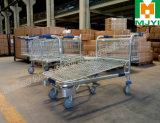As logísticas do armazenamento do armazém Plat o carro resistente