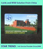 Cartão de presente Cartão de PVC com fita magnética para shopping center