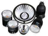 220V 8W de alto punto de luz LED regulable Lumen