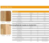 Le PVC d'intérieur folâtre le plancher pour la configuration en bois 3.0mm de gymnastique de basket-ball