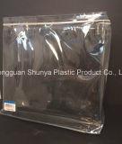パッキング衣服の服装の包装袋のためのPVCジッパー袋