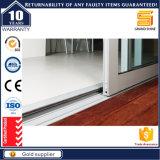 Doubles portes intérieures en aluminium horizontales en verre givré de lame avec As2047