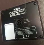 Lacoustics Ks28は補助的な低音のスピーカーのSubwooferラインアレイサウンド・システム18インチの二倍になる
