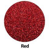 Vinilo rojo de la PU del traspaso térmico de Giltter de la talla del rodillo
