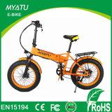 20 pulgadas plegables la bici eléctrica del neumático gordo 250W