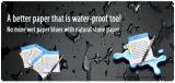 Ningún papel sintetizado de la dirección de grano (SPN-35-100um) ningún revestido