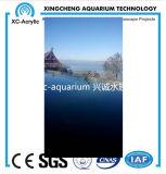 Precio de la hoja del vidrio de acrílico del proyecto de la piscina