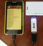 13.56MHz mini programa de lectura externo portable vendedor caliente del androide NFC RFID del USB RFID
