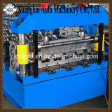 Het hydraulische Scherpe Broodje die van het Dakwerk van de Plaat van het Staal van de Kleur Machine vormen