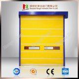 Alta velocidad de industriales de PVC Industrial RO roll-up puerta con la certificación CE (Hz-H588)