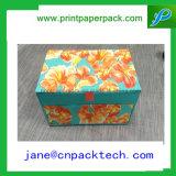 Van de Dozen van de Gift van de Druk van het Embleem van de douane de Digitale Verpakkende Doos Van de consument van het Product