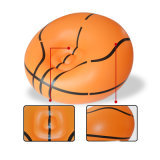 Sofa gonflable de PVC de basket-ball simple de forme ronde