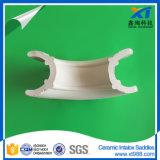 陶磁器のIntaloxは陶磁器タワーのパッキングにサドルを置く