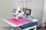 Einzelne Hauptstickerei-Maschinerie für Schutzkappen-Stickerei und flache Stickerei