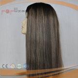 Parrucca lunga eccellente superiore di seta delle donne di densità pesante (PPG-l-01819)