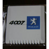 Logotipo promocionais personalizadas do raspador de gelo de neve de plástico