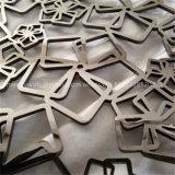 Neuer Entwurf folgen Muster-Edelstahl-Laser geschnittener dekorativer Partition