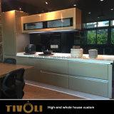 Kundenspezifische preiswerter Hauptmöbel-moderner Wandschrank-hölzerne Küche für Wohnung Tivo-009VW
