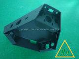 Вырезывание лазера высокой точности//пробивая части с черным покрытием