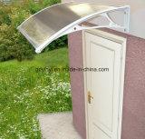 يورو تصميم شعبيّة تصميم فحمات متعدّدة أبيض بلاستيكيّة باب ظلة ([ي700-م])
