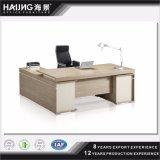 L 모양 목제 베니어 행정상 테이블, MDF 사무실 테이블, 사무실 책상