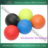 Ballen die van de Yoga van de Bal van het silicone de RubberBal springen