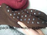 Homesocks Baumwolle trifft Normallack, einzelne Farbe, Legging Socke hart