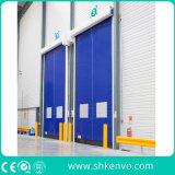 Porte rapide à réparation automatique de roulis de tissu de PVC pour des industries pharmaceutiques