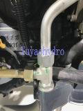 Raccord coudé en acier de 90 degrés le raccord hydraulique pour les machines agricoles