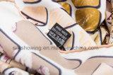 Écharpe 100% faite sur commande populaire de soie de sergé d'impression de Digitals de jolie mode