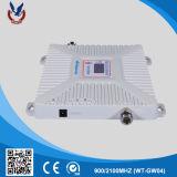 Venta caliente repetidor de señal GSM/WCDMA Auxiliar Oficina en casa 2G/3G el amplificador