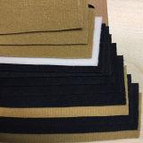 Couro sintético do plutônio de Yangbuck do projeto elegante novo para sapatas, sacos, (HS-Y24)