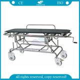 Barella paziente Emergency di trasporto dell'acciaio inossidabile dell'ospedale