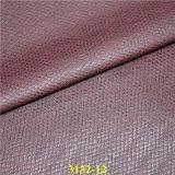 高品質総合的なPUの物質的で装飾的な革