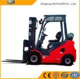 China 2500kg vermelho Dual Forklift do combustível Gasoline/LPG no mercado