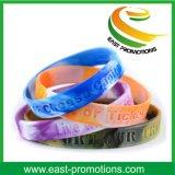 Bracelets de silicones personnalisés par festival fait sur commande pour des promotions
