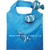 Bolsos plegables de las compras Eco Bolsas, estilo animal del gato, reutilizable, ligero,, regalos, promoción, accesorios y decoración, bolsos de la tienda de comestibles y práctico